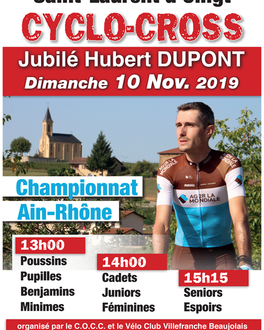 Championnat Ain-Rhône de cyclo-cross